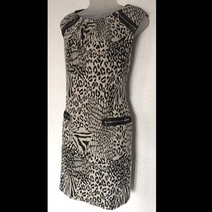 Nine West animal print casual party dress